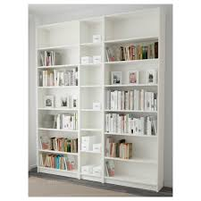 White Short Bookcase by Billy Bookcase Birch Veneer 200x237x28 Cm Ikea