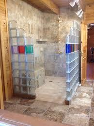 glass block shower innovate building solutions blog bathroom