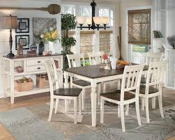 signature design by ashley whitesburg 5 piece rectangular dining