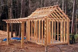8x12 classic shed with 4 foot side porch shed plans pinterest