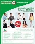 ธนาคารกสิกรไทย เปิดรับสมัครงาน มากกว่า 4,000 ตำแหน่ง | โปรโมชั่น ...