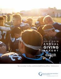 annual giving report 2015 16 by valley christian schools issuu