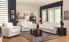 White Bedroom Furniture Jerome A Plus Home Furnishings Enright Black Brown Or White Sofa With