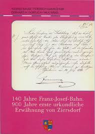 Mit der Eröffnung der Franz-Josef-Bahn begann am 23. Juni 1870 ein neues Zeitalter im Waldviertel und in weiterer Folge auch im Weinviertel. - franzjosefbahn