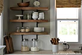 wooden wall shelves decor