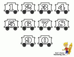 alphabet train printable coloring page train transportation