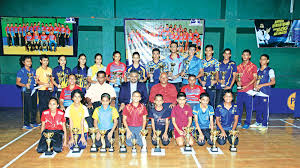 Table Tennis Tournament by 1st Junior All Island Table Tennis Tournament 2017 Dinesh And