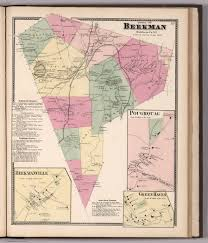 New York County Map by Town Of Beekman Dutchess County New York Insets Beekman