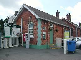 Ford railway station