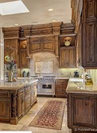 Kitchen Cabinets Stain Tuscan Kitchen Kitchen Cabinet Inspiration Pinterest