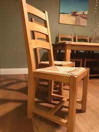 6 wooden wicker kitchen chairs in brighton east sussex gumtree