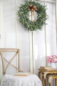 fresh eucalyptus wreath french country cottage