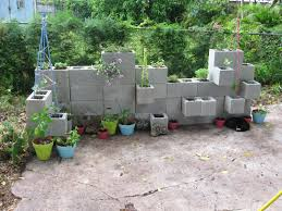 Outdoor Wall Planters by Cinder Block Planter Wall Ideas Garden Wall Planter U2013 Planter