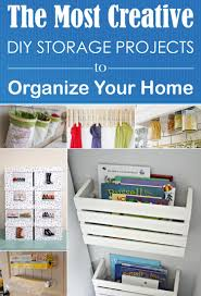 Diy Home Projects by The Most Creative Diy Storage Projects To Organize Your Home