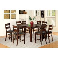 furniture of america gibson bold 9 piece dining table set hayneedle