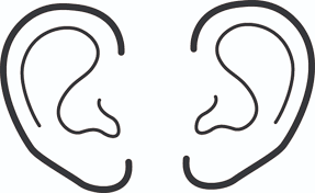 ears coloring pages getcoloringpages com