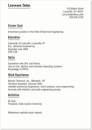 Best College Resumes by High Resumes Student Resume Builder Free Free Printable