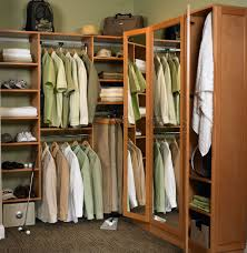 Bedroom Wall Unit Closets 10545175cm Closet Organizer Storage Rack Portable Clothes Hanger