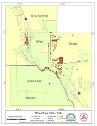 Map Of Juarez Mexico by Paso Del Norte Watershed Council Coordinated Database And Gis