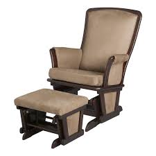 Rocking Recliner Nursery Upholstered Glider And Ottoman For Nursery Thenurseries