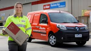 kangoo z e electric vans join australia post fleet in 12 month