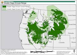 Wyoming Map Usa by Greater Sage Grouse Maps