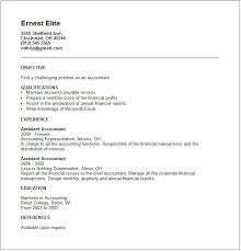 Accounting Resume Examples by Resumè Examples Resume Templates