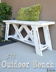Basic Wood Bench Plans by Best 25 2x4 Bench Ideas On Pinterest Diy Wood Bench Bench