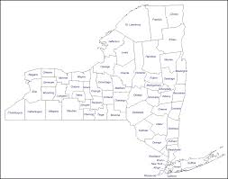 New York Map Us by Reference Map Of The State Of New York Usa Nations Online Project