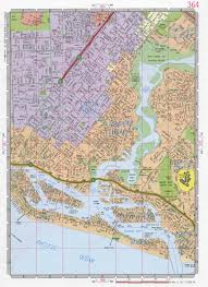Newport Oregon Map by Newport Beach Road Map