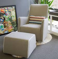 Upholstered Glider Modern Grazia Swivel Glider Nursery Furniture By Monte Design