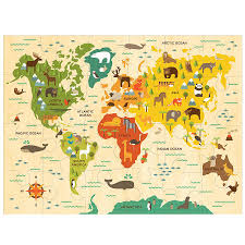 Kids World Map Our World Collage And Babies