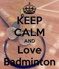 Image result for i love badminton