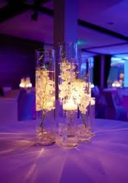 Purple Floating Candles For Centerpieces by Floating Candle Centerpiece But With Only 3 And No Flowers And