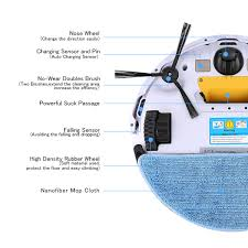 Cleaning Robot by Ilife V5s Smart Cleaning Robot Floor Cleaner Auto Vacuum