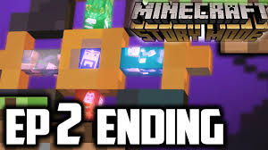 minecraft story mode episode 2 ending the end minecraft story