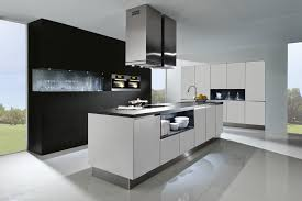 Ready Kitchen Cabinets by Breathtaking Straight Shape Modular Kitchen With White Red Colors