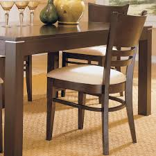Discount Dining Room Sets Free Shipping by Venice Espresso Cushioned Dining Chair Set Of 2 By Inspire Q