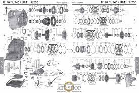 lexus toyota corolla transmission rebuild u140e u140f u142e u151e