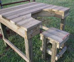 Basic Wood Bench Plans by Best 25 Shooting Bench Ideas On Pinterest Shooting Table