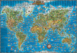 Kids World Map Geo Kids World