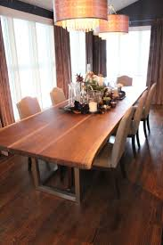 Dining Room Tables Seattle Best 25 Live Edge Table Ideas On Pinterest Natural Wood Table