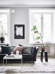 Modern Contemporary Living Room Ideas by Best 20 Black Couch Decor Ideas On Pinterest Black Sofa Big
