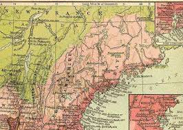 Map Of The New England Colonies by New Page 1