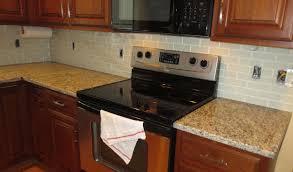 How To Put Backsplash In Kitchen How To Install A Glass Tile Kitchen Backsplash Parts 1 U0026 2 Youtube