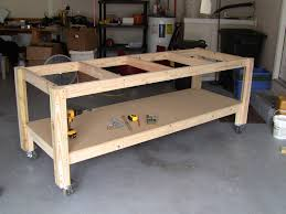 Basic Wood Bench Plans by 25 Best Garage Workbench Plans Ideas On Pinterest Wood Work