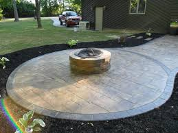 Fire Pit Pad by Atlantis Concrete And Construction Llc Home