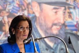 Elba Rosa Pérez, ministra de Ciencia, Tecnología y Medio Ambiente (CITMA), Holguín.- (AIN) Elba Rosa Pérez, ministra de Ciencia, Tecnología y Medio Ambiente ... - 15aem_elba_rosa-montoya