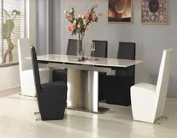 modern dining room chairs modern dining room set round pedestal