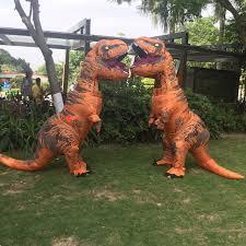 Dinosaur Halloween Costumes Aliexpress Buy Inflatable Dinosaur Rex Costumes Women